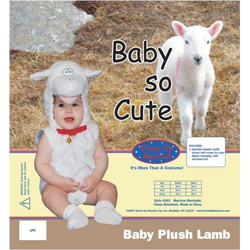 Baby Plush Lamb Costume Set - 6 Months