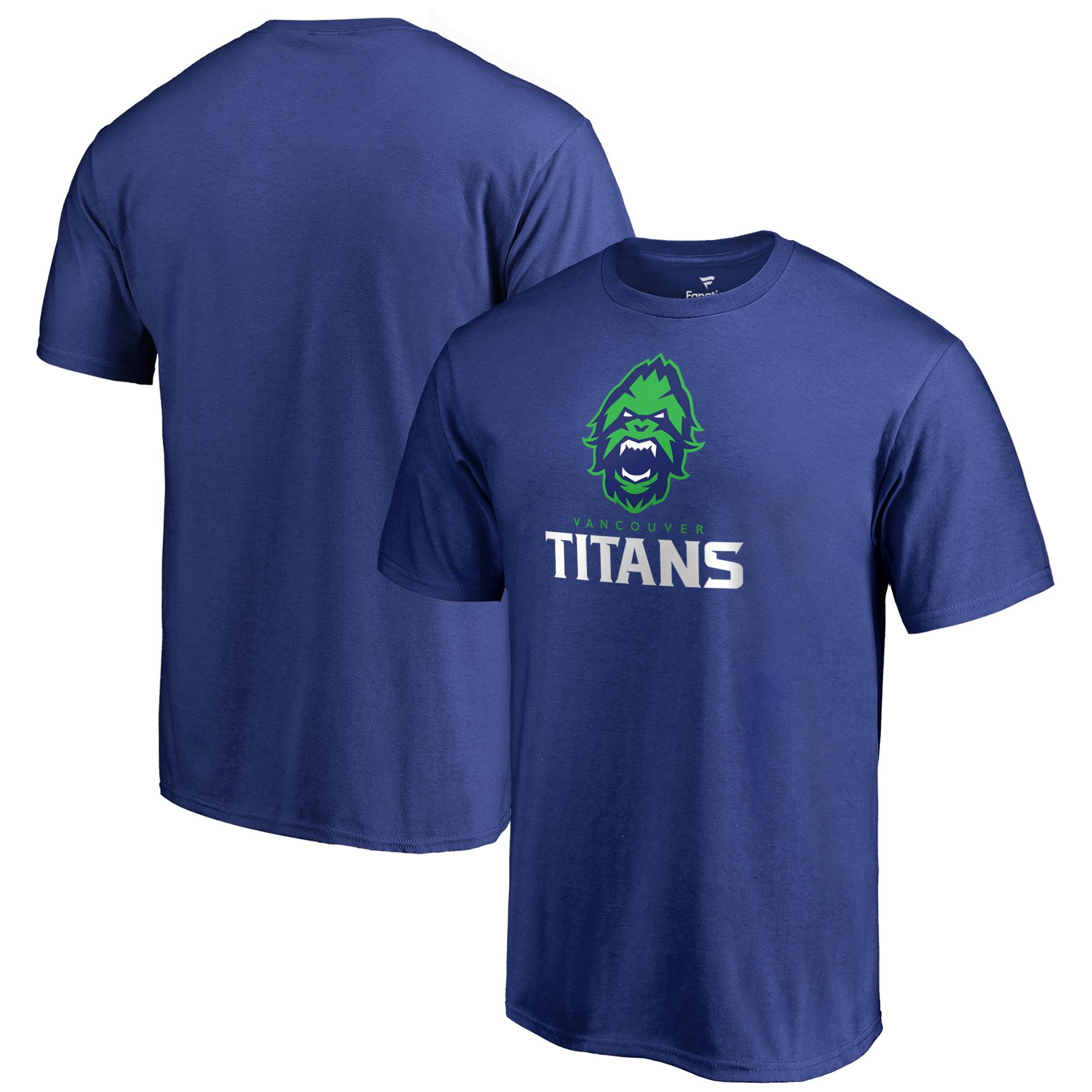 Vancouver Titans Fanatics Branded Team Identity T-Shirt - Royal