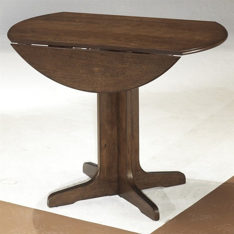 Ashley Stuman Round Wood Dining Table in Brown - image 2 of 4