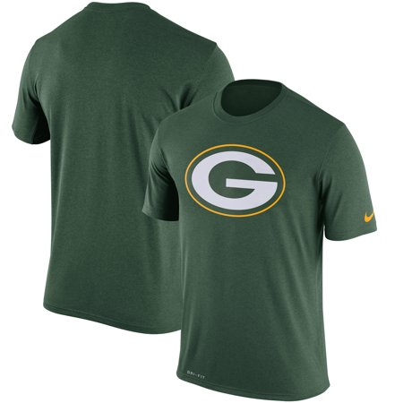 Green Bay Packers Nike Legend Performance Logo Essential 3 T-Shirt - Green