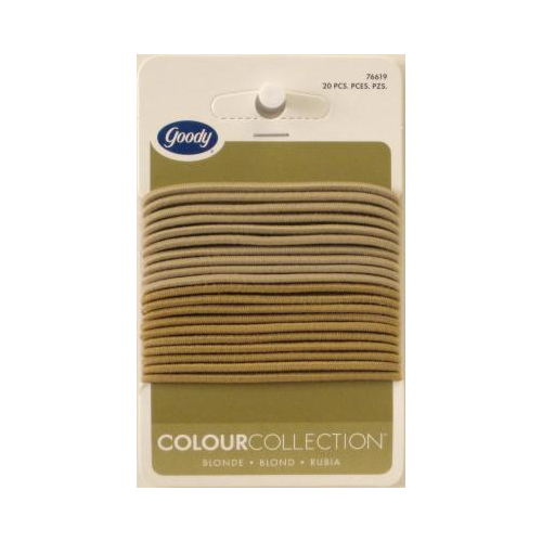 goody colour collection 2mm elastics blonde 20