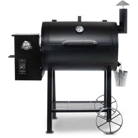 Pit Boss 820Fb Wood Fired Pellet Grill W  Flame Broiler