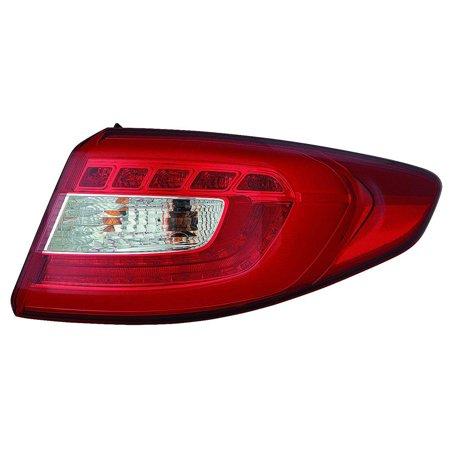 Fits Hyundai Sonata 15 Tail Light Assembly LED Type Outer Passenger Side (DOT Certified) Hyundai Sonata Led