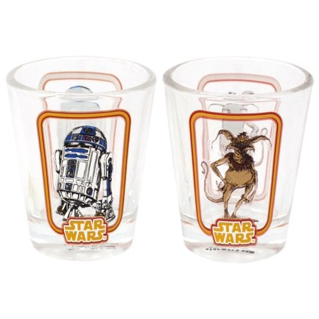 Pressed Glass Toothpick (Funko Star Wars Toothpick Holder / Shot Glass)