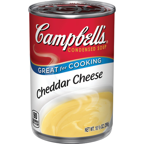 Homemade mac and cheese with campbells cheddar soup