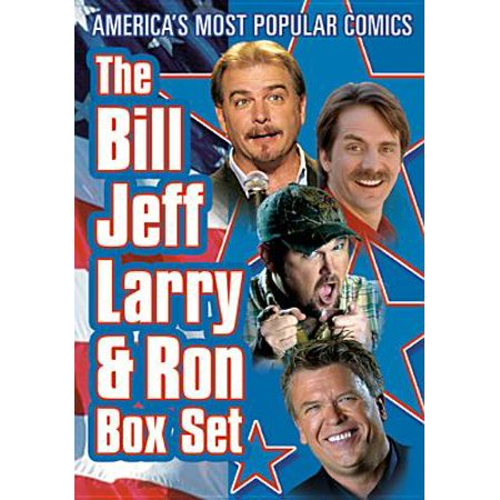 Bill Jeff Larry & Ron Box Set: Bill Engvall: Here's Your Sign: Live! / Jeff Foxworthy: You Might Be A Redneck If ... / ...