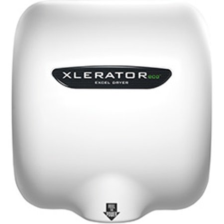 Cub Hand Dryer (Excel Dryer XL-BW-ECO Xlerator ECO No Heat Commercial Hand Dryer with White Thermoset (BMC) Cover )