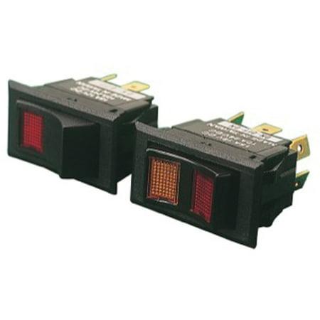 Sea Dog Illuminating Rocker Switch, DPDT (Illuminated Switch)