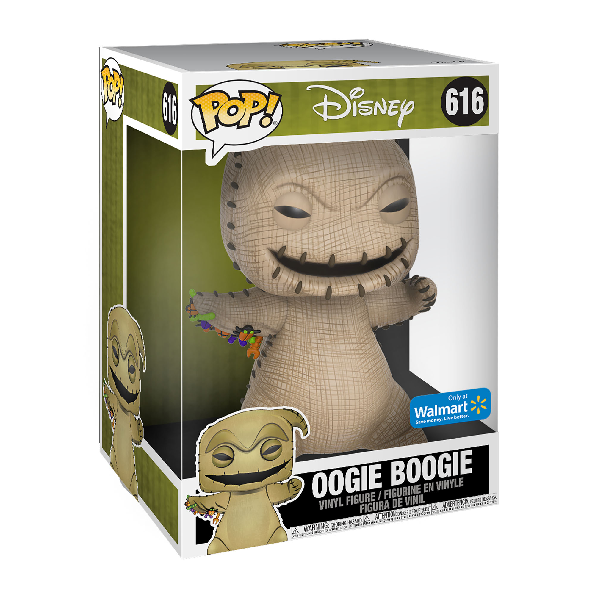 Funko Pop Disney The Nightmare Before Christmas 10 Oogie Boogie Walmart Exclusive Walmart Com Walmart Com Oogie's revenge is a video game for the playstation 2 and xbox platforms. funko pop disney the nightmare before christmas 10 oogie boogie walmart exclusive walmart com