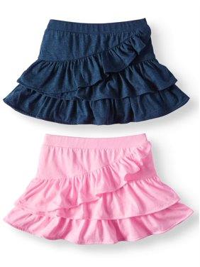 290fcff58 Product Image Garanimals Knit Ruffle Skorts, 2pc Multi-Pack (Toddler Girls)