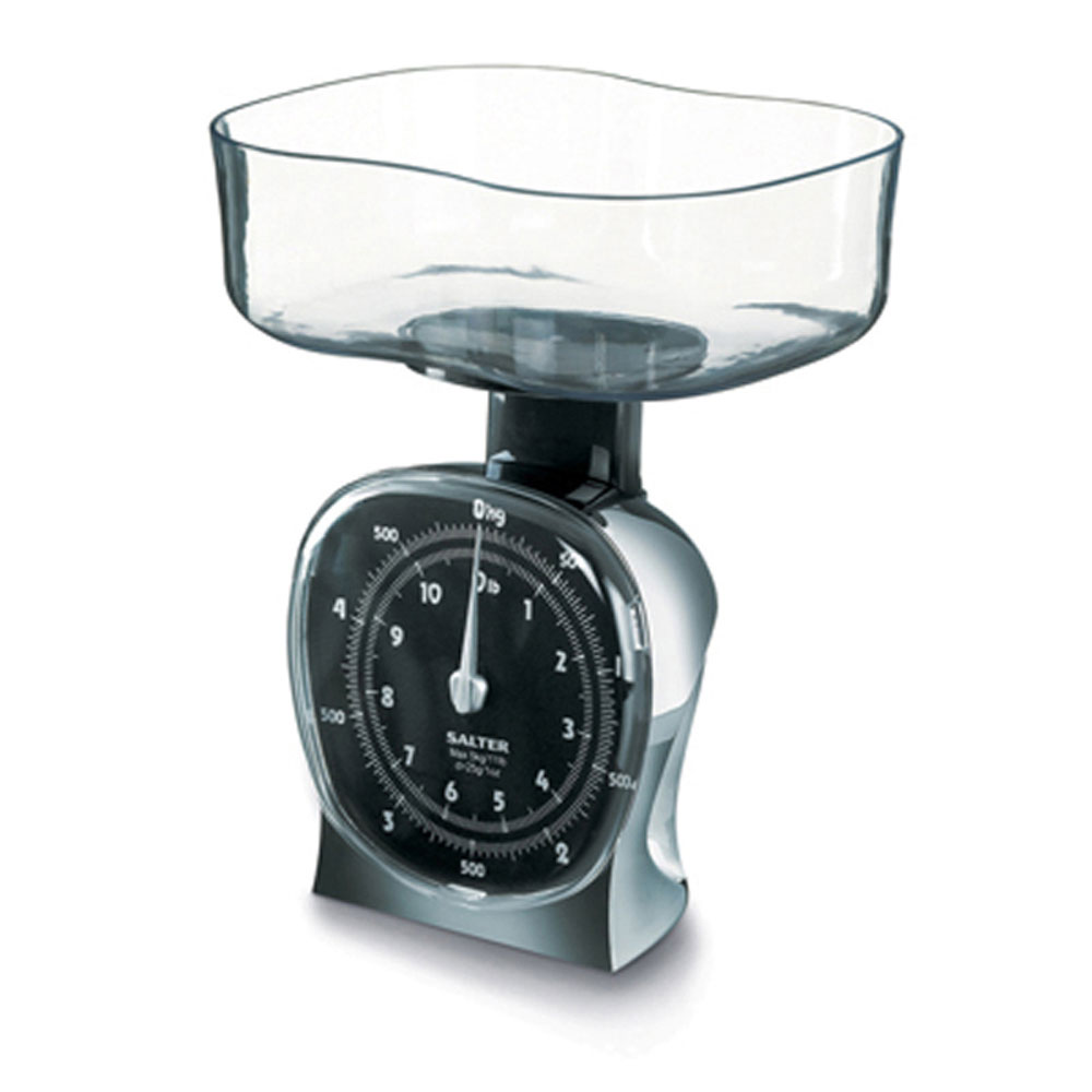 Salter 135CRDR Chrome Mechanical Kitchen Scale - Walmart.com