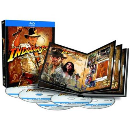 Indiana Jones  The Complete Adventures  Blu Ray   Widescreen