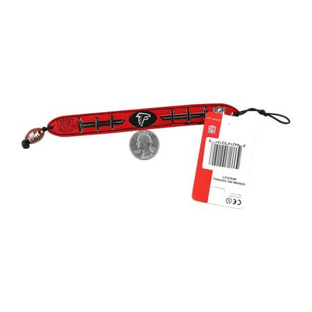 NFL Jacksonville Jaguars Team Color Gamewear Leather Football Bracelet - image 1 of 3