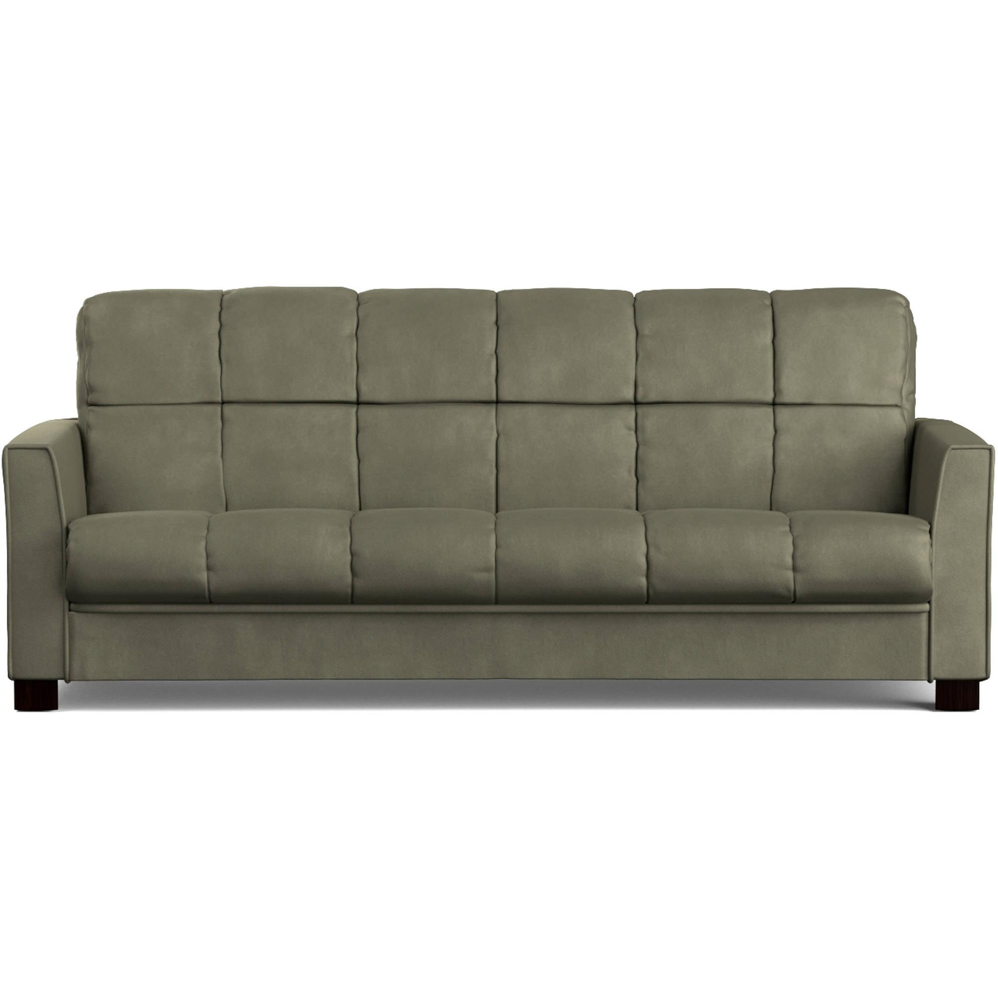 Mainstays Baja Futon Sofa Sleeper Bed, Multiple Colors picture
