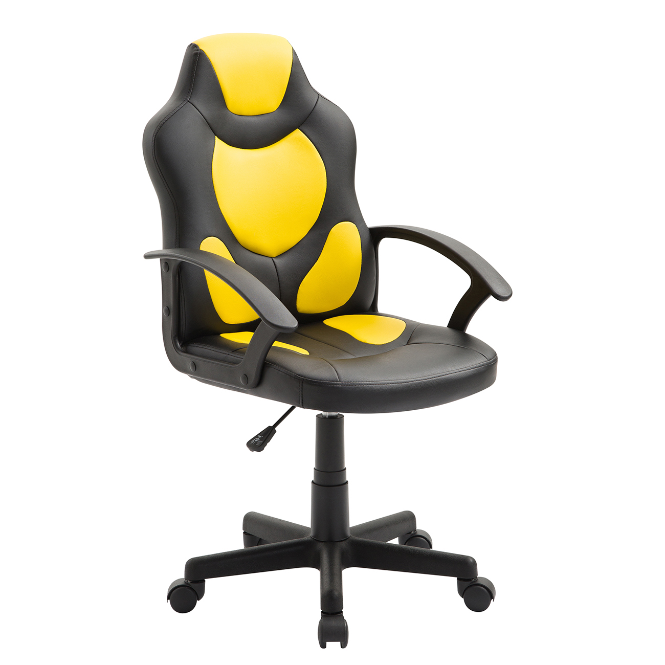 Techni Mobili Kidu0027s Gaming and Racing Chair with Wheels Yellow - Walmart.com  sc 1 st  Walmart & Techni Mobili Kidu0027s Gaming and Racing Chair with Wheels Yellow ...