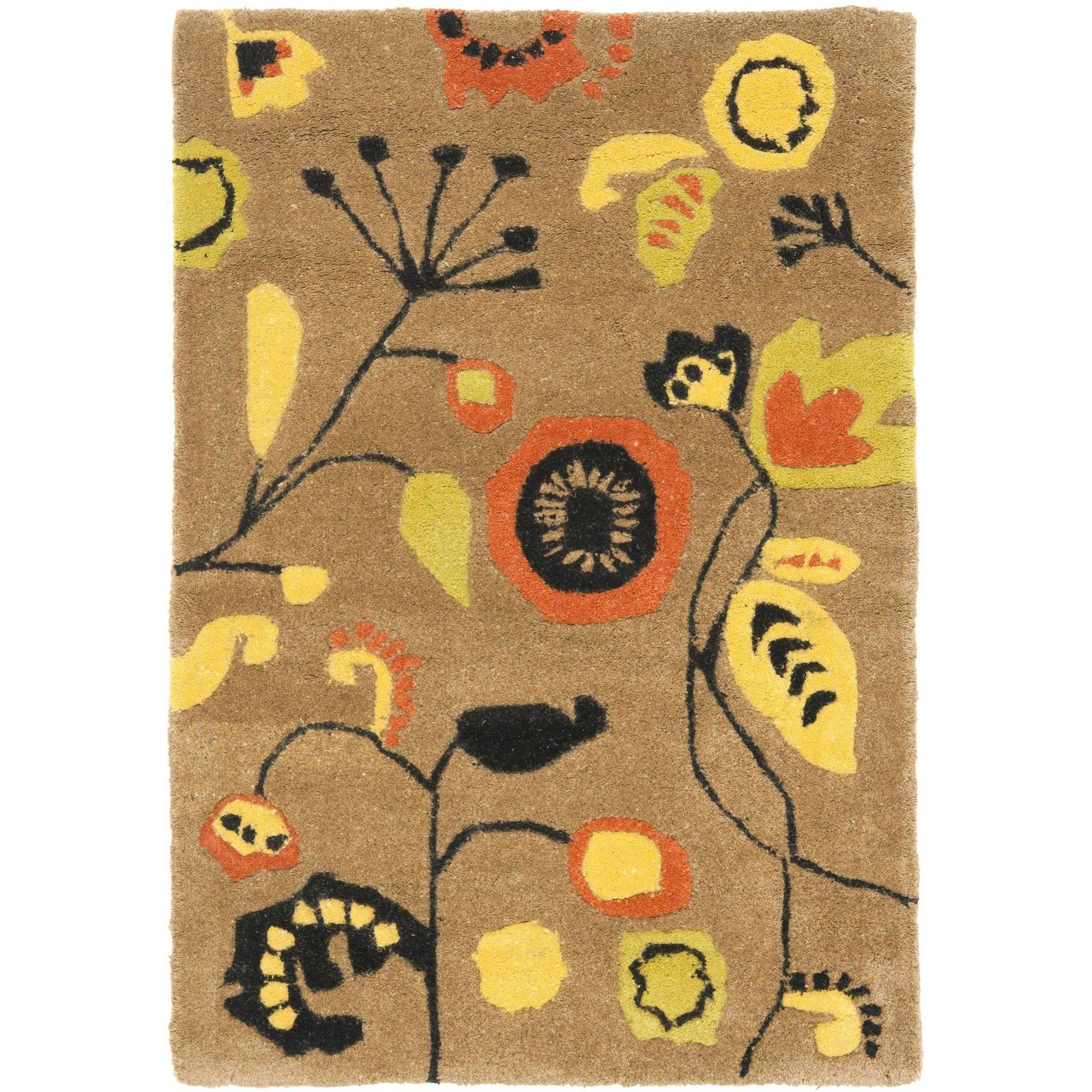 Safavieh Soho Zoe Wool Rug, Brown / Multi-Color
