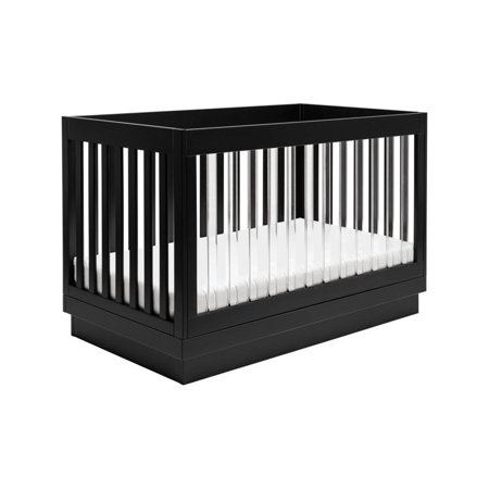 Babyletto Harlow 3 in 1 Convertible Crib in Black (Babyletto Mercer 3 In 1 Convertible Crib Reviews)