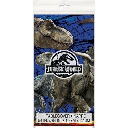 Jurassic World Fallen Kingdom Party Supplies 2 Pack Tablecovers](Jurassic Party)