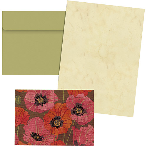 Avalanche Petite Note Card, Blossomwood