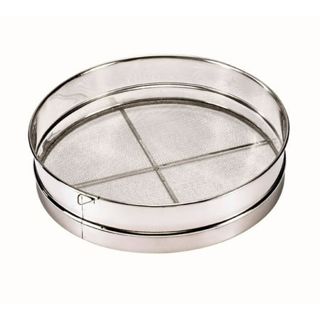 Browne S9912 12 Quot Stainless Steel Rim Sieve Ship Weight