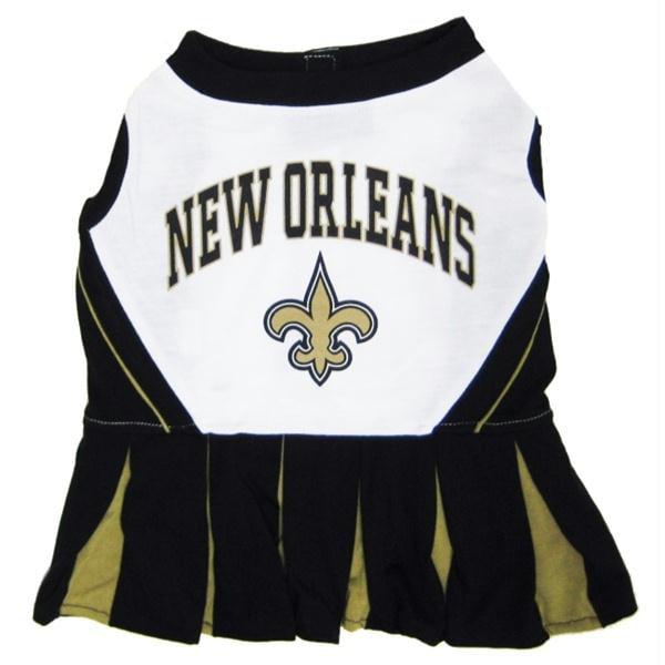 New Orleans Saints Cheerleader Dog Dress