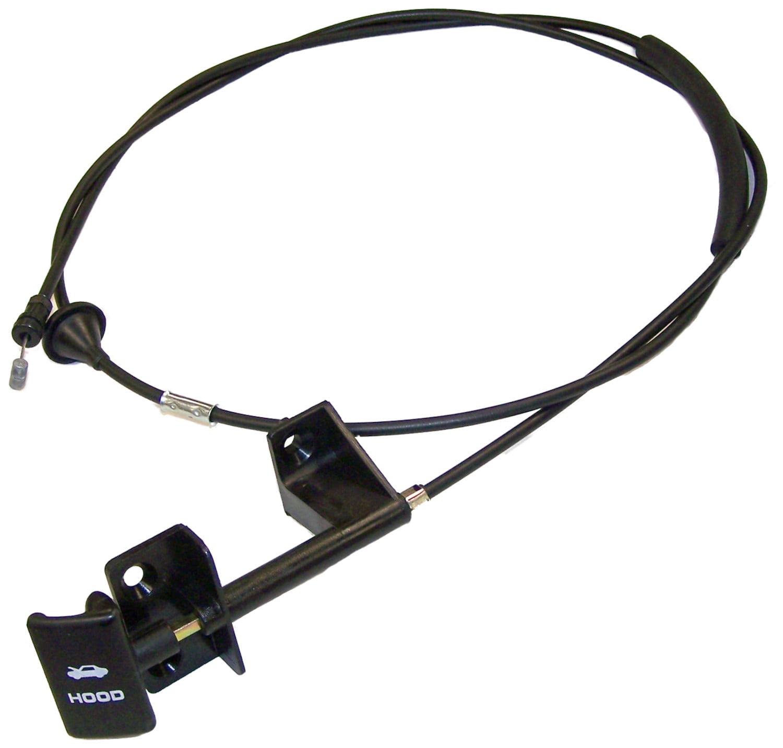Crown Automotive 55235483AD Hood Release Cable  Direct Fit - image 1 de 1