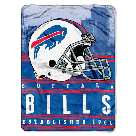 "NFL Buffalo Bills ""Stacked"" 60"" x 80"" Silk Touch Throw"