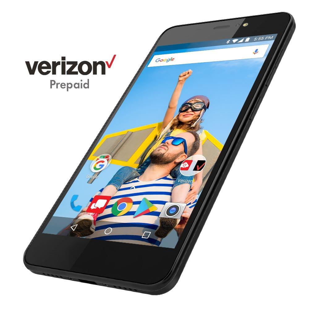 "Verizon Orbic Wonder 5.5"" 16GB 4G LTE Prepaid Android Smartphone"