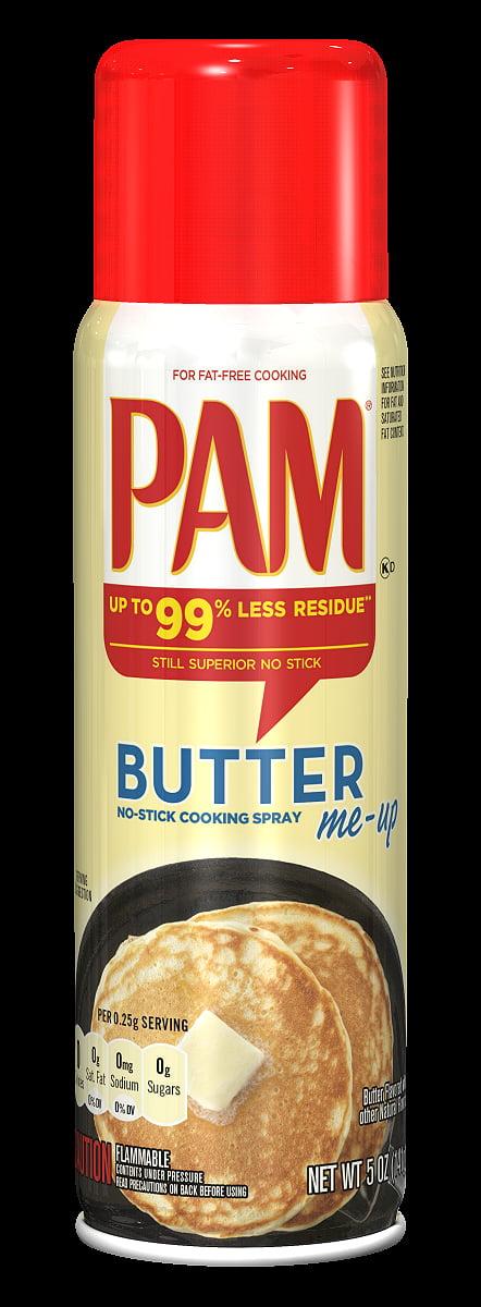 Pam Butter Cooking Spray, 5 oz
