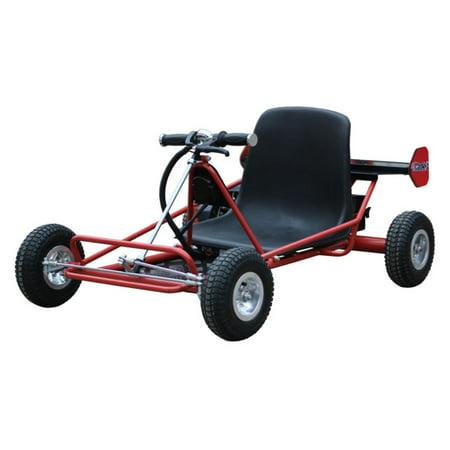 MotoTec 24 Volt Solar Panel Kids Electric Go Kart