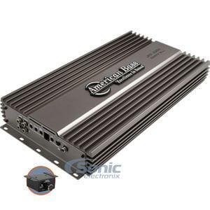American Bass HD-3500 HD Series 3500 Watts Max Monoblock Car Amplifier