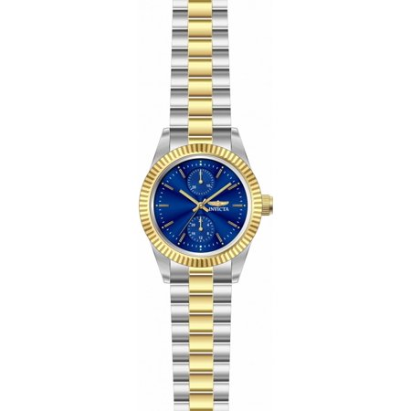 Invicta Women Specialty Quartz Blue Dial Two Tone Stainless Steel Watch 29441