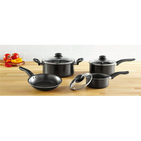 Mainstays Non-Stick 7 Piece Cookware Set