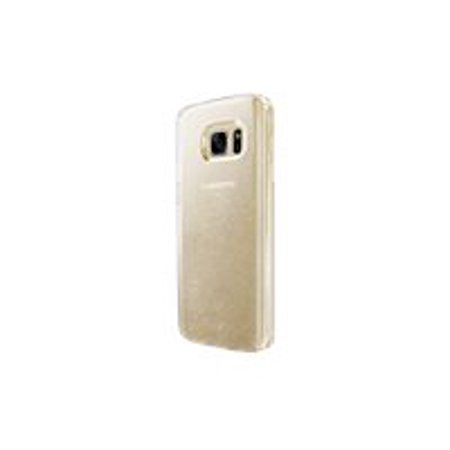 Speck CandyShell Clear - Back cover for cell phone - polycarbonate - clear, glitter gold - for Samsung Galaxy S7