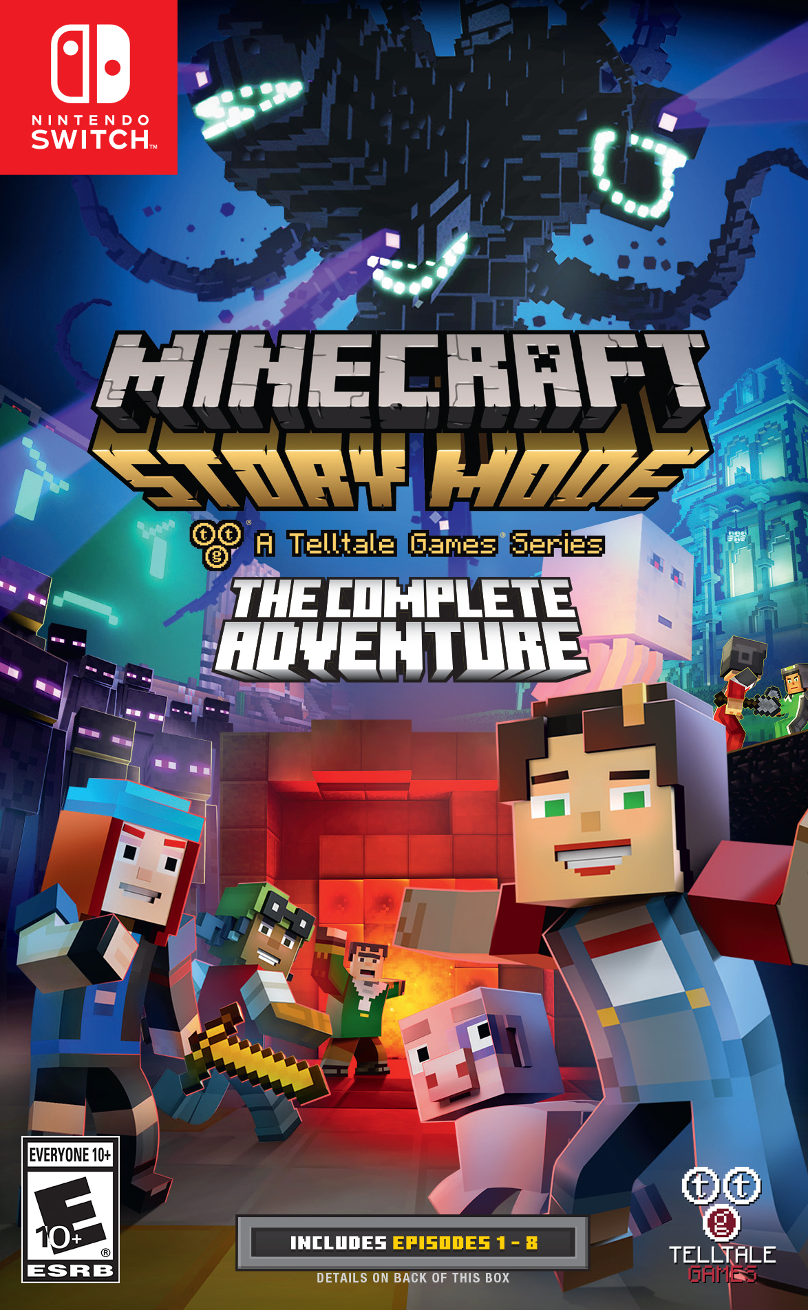 Minecraft: Story Mode The Complete Adventure by U&I ENTERTAINMENT