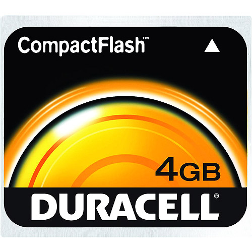 Duracell 4 GB CompactFlash Memory Card