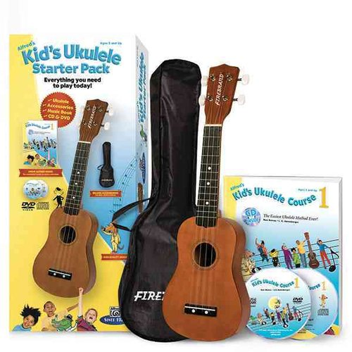 Alfred's Kid's Ukulele Starter Pack: Everything You Need to Play Today!