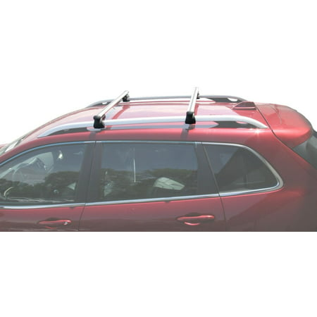 BrightLines 2014-2019 Jeep Cherokee Cross Bar Roof Rack ()