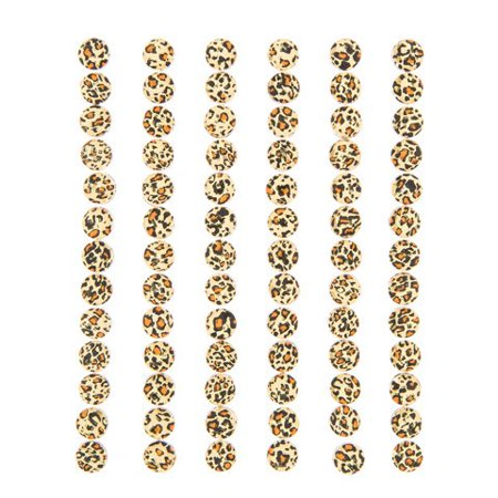 Add texture and shine to your arts and crafts with these cheetah pattern bling stickers. Shiny rhinestone stickers bring any project to life. (Rhinestone Cheetah)