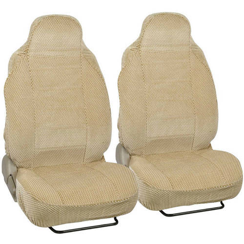 BDK Scottsdale Car Seat Covers, Premium Cloth Front Pair, 2pc, For Car/SUV