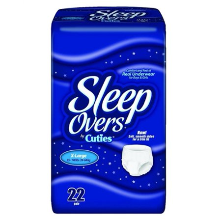 Sleep Overs Underwear Diaper, EXTRA-LARGE, Heavy Absorbency, SLP05303 - Case of 88