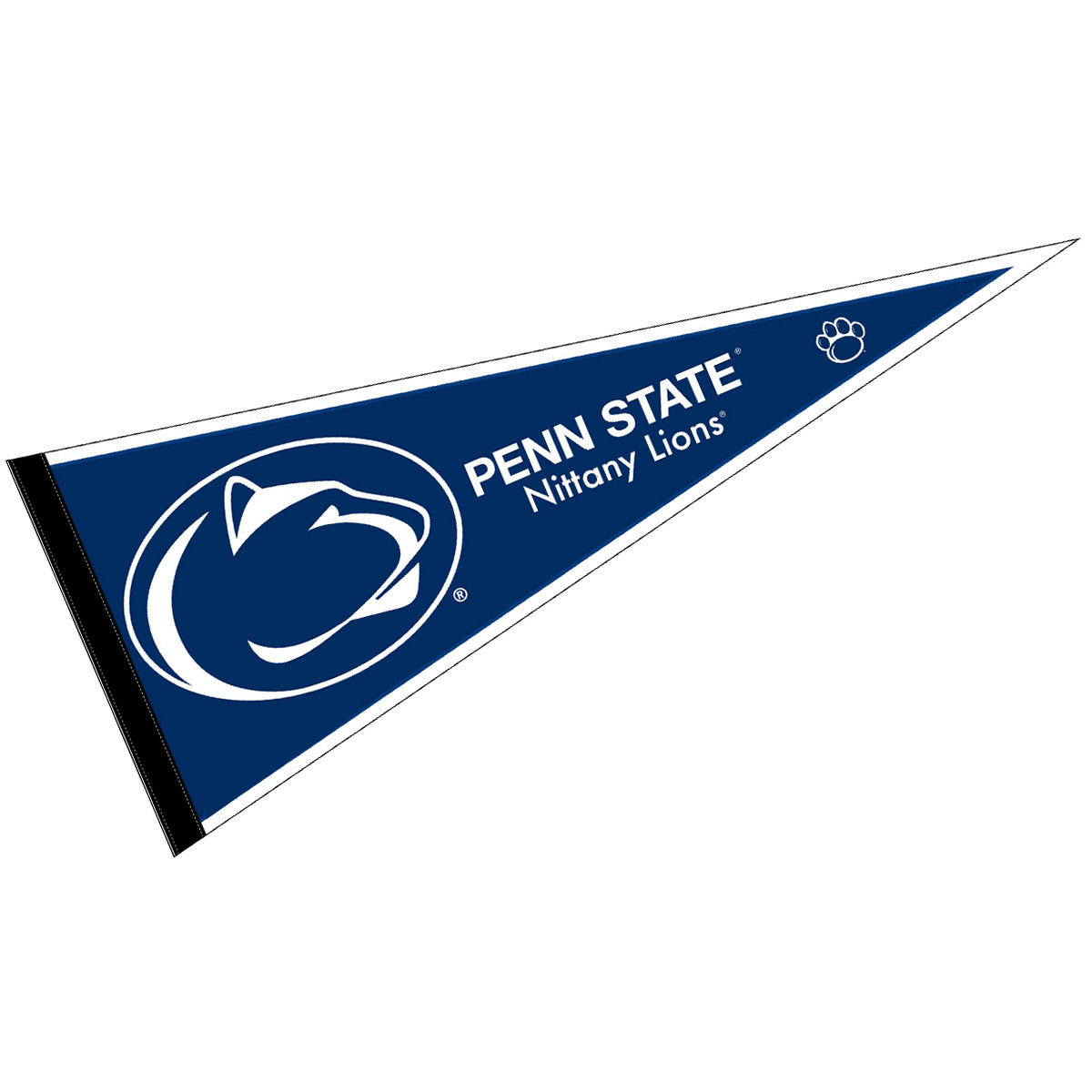 "Penn State Nittany Lions Blue 12"" X 30"" Felt College Pennant"