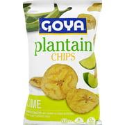Goya Plantain Chips Lime Flvr