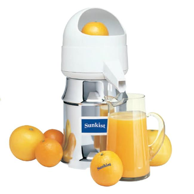 Sunkist J-4 Type 8 AC 230 Volt 60 Watt Commercial Juicer with Oscillating Strainer