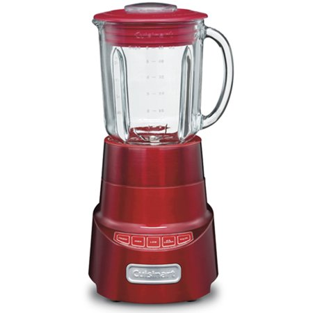 Cuisinart SPB-600MR SmartPower Deluxe Die Cast Blender, Metallic Red (Certified Refurbished)