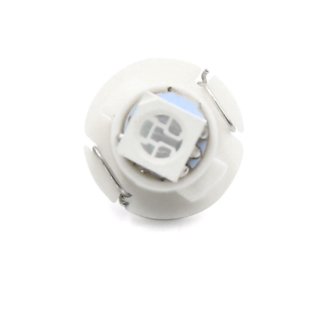 12pcs 12V T4.7 5050-SMD Green LED Auto Car Interior Dashboard Panel Light Bulb