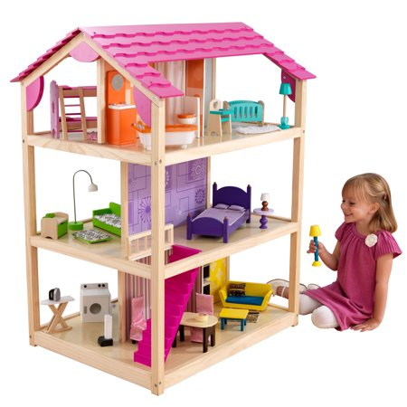KidKraft So Chic Dollhouse with 46 accessories included Dollhouse Womens Rock
