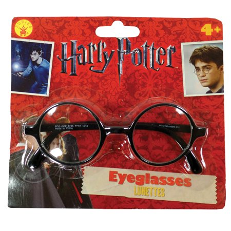 Harry Potter Glasses Adult Halloween Costume Accessory (Girl Harry Potter Costume)