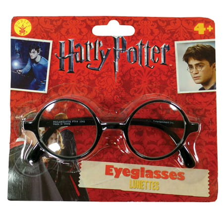Harry Potter Glasses Adult Halloween Costume Accessory - Good Halloween Costumes For Black Guys