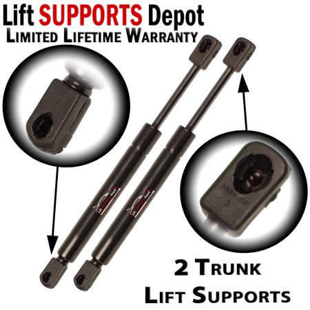 Qty 2 Chrysler Concorde & LHS 1998 To 2004 Trunk Lift Supports Struts Shocks
